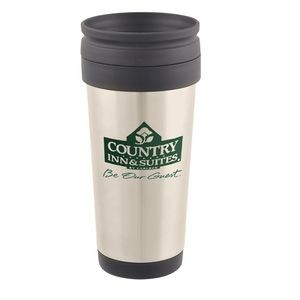 17 Oz. Stainless Steel Custom Printed Travel Tumbler