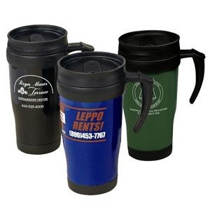 16 Oz. Solid Travel Mug